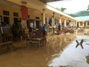 Mưa lũ dồn dập Nghệ An, hơn 500 người bị cô lập