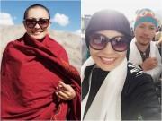 Làng sao - Phương Thanh xác nhận chuyện đã xuống tóc ở nơi đất Phật