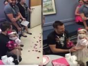 """Video: Đám cưới """"trong mơ"""" của cô bé 4 tuổi mắc ung thư"""