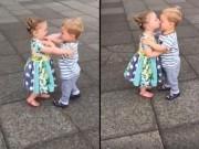 Clip Eva - Khi hai em bé hôn nhau người lớn cũng phải chào thua