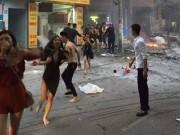 Tin tức - Cô gái trong bức ảnh dùng áo ngực thoát đám cháy tại quán karaoke lên tiếng