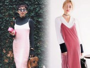 Thời trang - Đã có cách tuyệt hay để mặc váy 2 dây từ hè sang thu