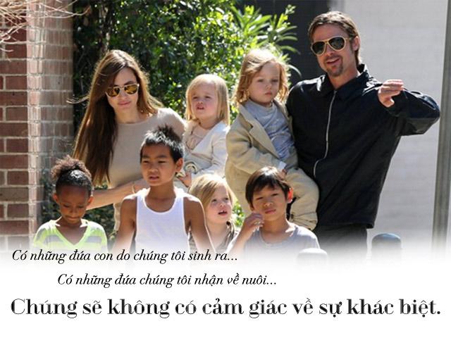 Chăm 6 con từ A - Z thế này, Brad Pitt vẫn bị vợ đá