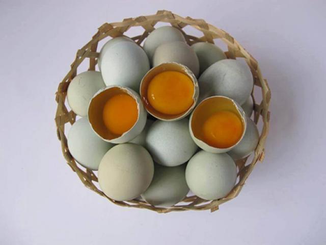 Thực hư trứng gà xanh bổ dưỡng giá 10.000/quả