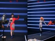 Top 7 Next Top Model vứt áo, catwalk ngược khi quay quảng cáo