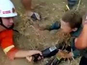 Clip Eva - Em bé thoát chết kỳ diệu khi ngã xuống giếng sâu hơn 10 m
