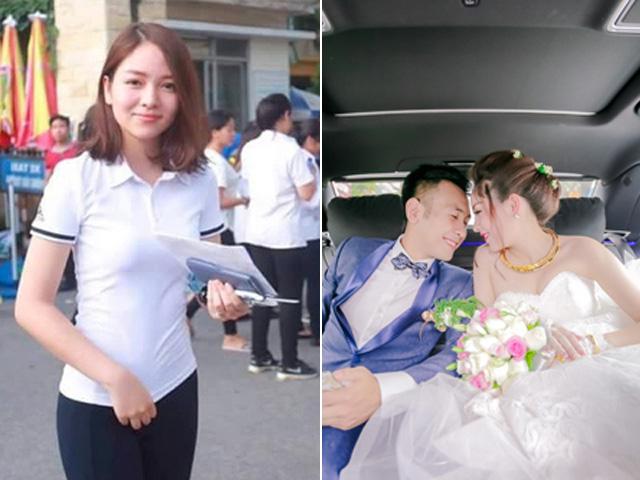 Cô gái hot nhất kỳ thi ĐH gây bất ngờ khi lên xe hoa với chồng hơn 10 tuổi