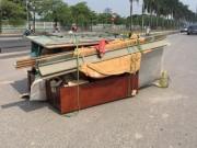 Tin tức - Hà Nội: Hai người bị thương nặng vì tai nạn xe ba gác thương binh