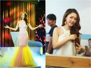 """Bảo Anh, Đinh Hương """"đọ"""" vẻ xinh đẹp trên sân khấu"""