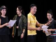Xem & Đọc - Bình Minh, Thu Trang thích thú trổ tài diễn xuất