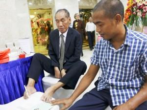 Nhà giáo huyền thoại Nguyễn Ngọc Ký ra mắt Tâm huyết trao đời trong ngày mừng thọ 70
