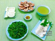 Bếp Eva - Thực đơn cơm chiều nhanh gọn, hấp dẫn với tôm sú chiên giòn