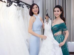 Đi thử váy cưới với Diệu Ngọc, Phan Thị Mơ bị nghi ngờ sắp lấy chồng