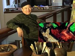 Ấn tượng với những bức tranh sơn dầu của họa sĩ vốn xuất thân từ... võ sư