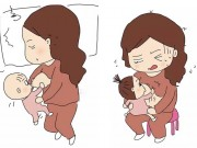 Nuôi con bằng sữa mẹ: Khổ lắm, không hề nhàn đâu nhé!