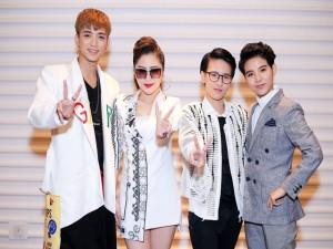 Dàn HLV 9X của Giọng hát Việt nhí 2017 xuất hiện rạng rỡ, cá tính tại sự kiện