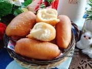 Bếp Eva - Ăn sáng với bánh mì chiên nhân kem custard chảy thơm lừng, béo ngậy
