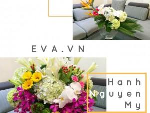 Học mẹ Việt cắm bình hoa trăm sắc màu đẹp mê mẩn, bày nhà rực rỡ