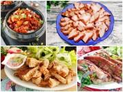 Bếp Eva - Mát trời chị em thử các cách chế biến thịt ba chỉ ăn là mê liền