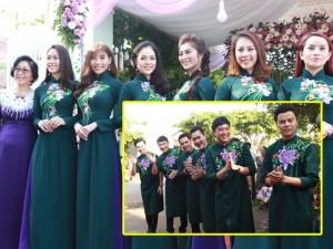 Đội phù dâu, phù rể hot nhất hôm nay: Nhiều sao Việt có gia đình nhận bê tráp ở lễ vu quy của Lê Phương