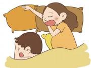 Tư thế ngủ của ông xã khi nằm cạnh vợ bầu tiết lộ điều gì?