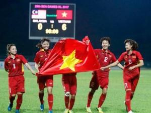 """Bi hài SEA Games: Đội tuyển nữ Việt Nam vô địch, tướng Chung bị """"cắt"""" huy chương vàng"""