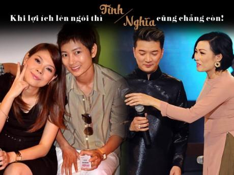 Sao Việt kèn cựa nhau: Khi lợi ích lên ngôi, tình nghĩa cũng chẳng còn!