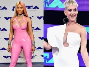 Vắng bóng Taylor Swift, Katy Perry và Nicki Minaj kèn cựa váy áo tại VMAs 2017