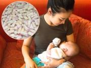 Bà bầu - Chỉ nặng vỏn vẹn 40kg, mẹ 9X vẫn tràn trề sữa sau sinh, chất đầy 3 tủ lạnh không hết