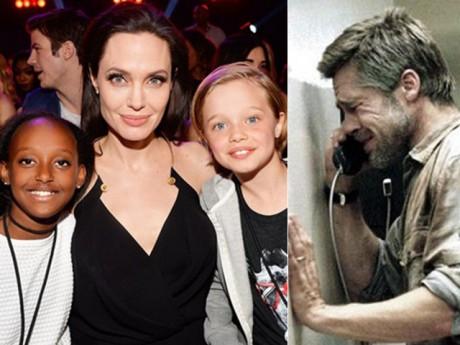 Angelina Jolie - Brad Pitt gặp lại, ôm chầm lấy nhau và òa khóc nức nở