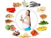 Bà bầu - Chế độ dinh dưỡng cho bà bầu theo từng tháng mang thai