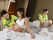 Massage đúng cách khi mang bầu: Tốt cho mẹ, lợi cho con