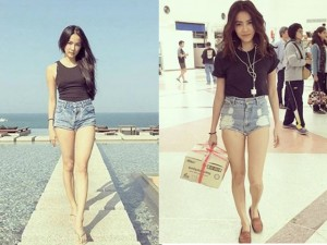 Học hỏi bí quyết để sở hữu đôi chân dài miên man khi lên hình từ những người đẹp Việt