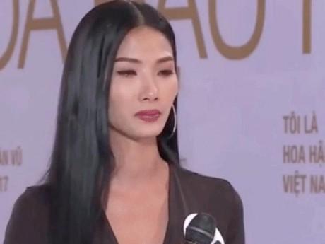 """Phạm Hương """"chặt chém"""" khiến Hoàng Thùy bật khóc ngay tập đầu Hoa hậu Hoàn vũ VN"""