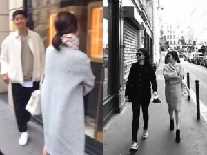 """Dân mạng tinh mắt phát hiện ra Song Joong Ki là người chụp hình """"sống ảo"""" cho Song Hye Kyo"""