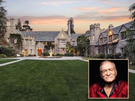 Hé lộ căn biệt thự theo chủ nghĩa hưởng lạc của ông trùm Playboy Hugh Hefner