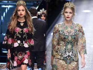 Cả công chúa cũng... lên sàn vì ông lớn thời trang Dolce&Gabbana