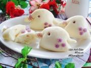Bếp Eva - Bánh bao hình con voi đã dễ thương lại còn dễ làm cho bé