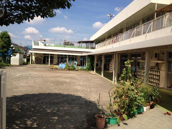 Cổng vào trường Hoikuen (mẫu giáo) ở Nhật. Nơi tôi sẽ đăng ký cho con mình theo học.