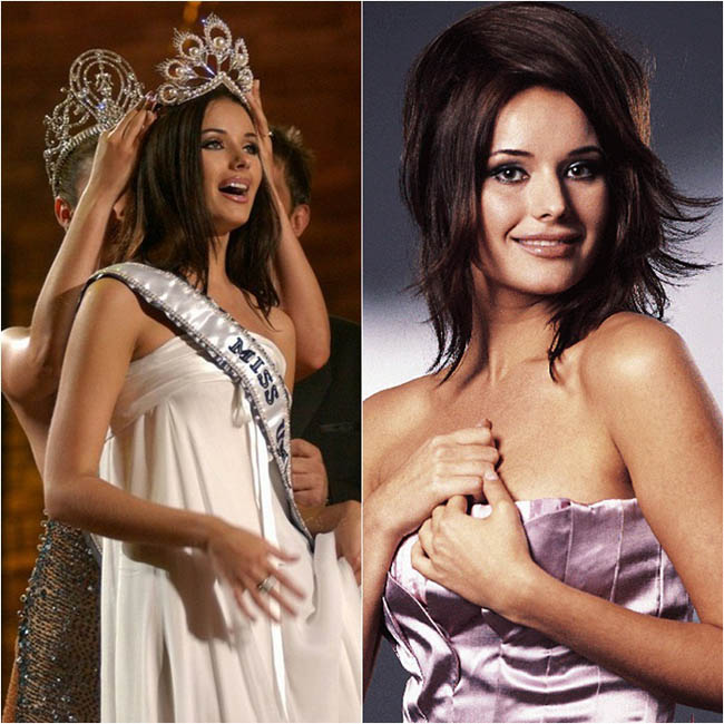 Hoa hậu hoàn vũ 2002 Oxana Fedorova mang vẻ đẹp có thể chinh phục người đối diện ngay từ ánh nhìn đầu tiên. Mặc dù bị truất ngôi sau đó nhưng Oxana vẫn được nhớ đến như là một trong những người đẹp nhất từng đội vương miện Hoa hậu hoàn vũ.