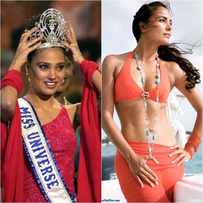 Lara Dutta mang danh hiệu Hoa hậu hoàn vũ 2000 về cho Ấn Độ. Cô sở hữu vẻ đẹp đậm chất Á Đông, nền nã và thanh lịch.