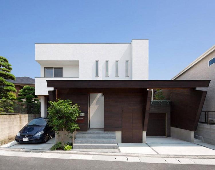 Ngôi nhà tuyệt đẹp trước mắt các bạn tọa lạc ở thành phố Fukuoka, Nhật Bản.