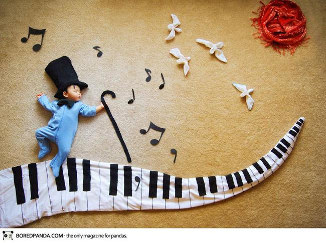 Mai sau con sẽ là nhà soạn nhạc.