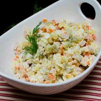 Cách làm salad Nga cực dễ!