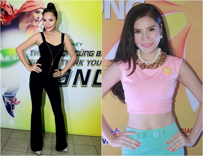 Hình ảnh của Ngô Mai Trang trước đây và bây giờ.