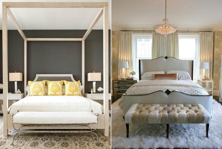 Trong phòng riêng của hai vợ chồng thì giường của bạn phải đảm bảo độ chắc chắn và an toàn vì điều đó tượng trưng cho một mối quan hệ bền vững. Một chiếc giường yếu ớt sẽ báo hiệu sự lỏng lẻo và nhạt nhẽo trong đời sống vợ chồng.
