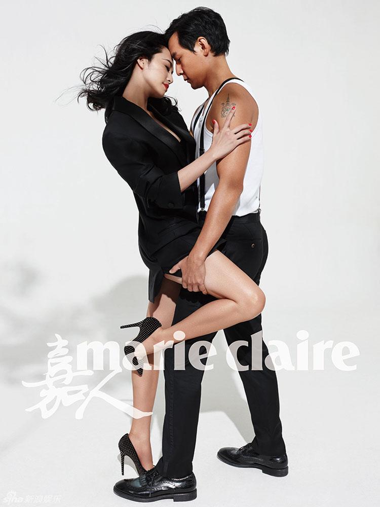'Người đẹp miệng rộng' Diêu Thần có một vũ điệu cuồng nhiệt bên Ngô Ngạn Tổ trong bộ ảnh mới trên Marie Claire