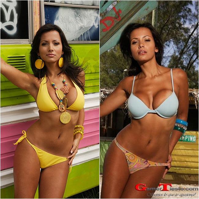 Venezuela nơi sản sinh ra rất nhiều người đẹp xinh đẹp và gợi cảm nhất hành tinh luôn là đối thủ nặng ký của các người đẹp khác trên đấu trường nhan sắc thế giới. Và dưới đây là 10 cô gái được cho là xinh đẹp nhất cường quốc sắc đẹp Venezuela.  1. Maria Gabriela Paez: là một người mẫu, người dẫn chương trình truyền hình. Cô xuất hiện trên rất nhiều tạp chí, ấn phẩm thời trang trong nước nhờ gương mặt đẹp và một thân hình nóng bỏng.