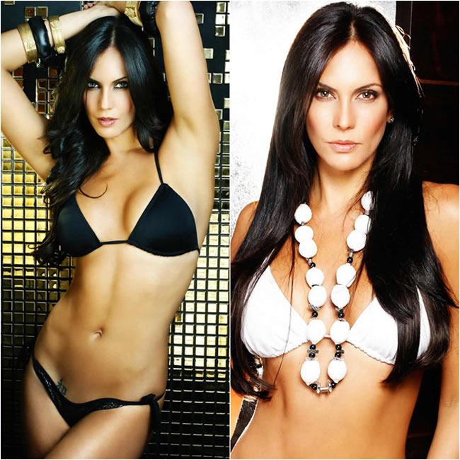 4. Claudia Moreno: Claudia Moreno sinh năm 1977, cô từng lọt vào chung kết cuộc thi Hoa hậu Venezuela năm 1999 và trở thành đại diện của Venezuela dự thi Miss Universe năm 2000 và dành được danh hiệu Á hậu 1.