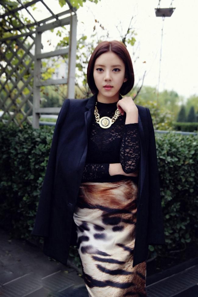 Style ấn tượng của Son Dambi.